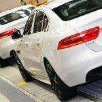 Jaguar XE enters production