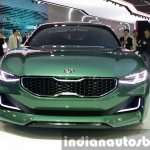 Kia Novo Concept front at the Seoul Motor Show 2015