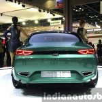 Kia Novo Concept rear at the Seoul Motor Show 2015