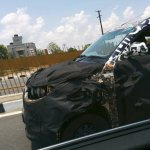 Mahindra S101 bonnet spied by IAB reader Mr. Mohammed