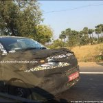 Mahindra S101 front spied