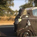 Mahindra S101 rear spied