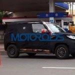 Mahindra U301 spied testing