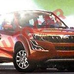 Mahindra XUV500 facelift leaked