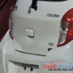 Maruti Celerio ZXi AMT badge spied