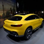 Mercedes Concept GLC Coupe rear three quarter in Shanghai