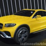 Mercedes GLC Coupe Concept front three quarters at Auto Shanghai 2015