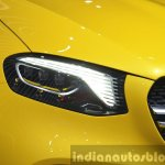 Mercedes GLC Coupe Concept headlamp at Auto Shanghai 2015