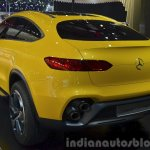 Mercedes GLC Coupe Concept rear three quarter left at Auto Shanghai 2015