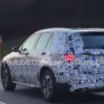 Mercedes GLC rear quarter IAB spied