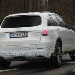 Mercedes GLC spied revealingly