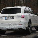 Mercedes GLC spied revealingly