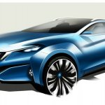 Nissan Venucia four-door coupe concept Auto Shanghai 2015