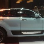 Qoros 2 SUV Concept side spied at Shanghai Auto Show 2015