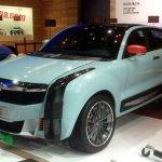 Qoros 2 SUV Concept spied at Shanghai Auto Show 2015