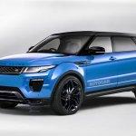 Range Rover Evoque Plus rendering