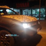 Renault Duster Oroch pickup front spied