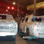 Renault Duster Oroch pickup spied