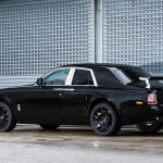 Rolls Royce Project Cullinan SUV rear spied