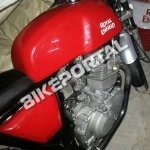Royal Enfield 750 cc engine spied on test
