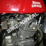 Royal Enfield 750 cc engine spied