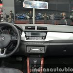 Skoda Fabia dashboard at Auto Shanghai 2015