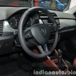 Skoda Fabia driver side at Auto Shanghai 2015