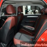 Skoda Fabia rear seat at Auto Shanghai 2015