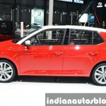 Skoda Fabia side view at Auto Shanghai 2015