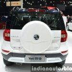 Skoda Yeti LWB rear view at Auto Shanghai 2015