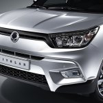 Ssangyong Tivolan front (Tivoli for China)