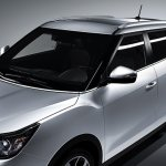 Ssangyong Tivolan roofline (Tivoli for China)