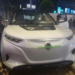 Ssangyong Tivolan EVR at the 2015 Shanghai Auto Show