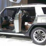 Ssangyong XAV Concept interior at the Seoul Motor Show