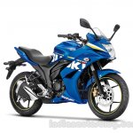 Suzuki Gixxer SF front three quarter press shot