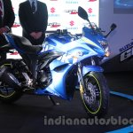 Suzuki Gixxer SF front three quarters
