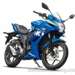 Suzuki Gixxer SF press shot