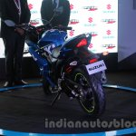 Suzuki Gixxer SF rear three quarters