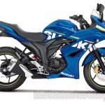 Suzuki Gixxer SF side press shot