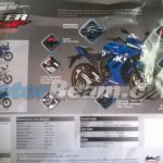 Suzuki Gixxer SF brochure spec sheet