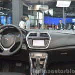 Suzuki SX4 S-Cross dashboard at Auto Shanghai 2015