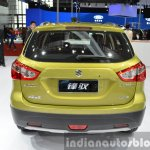 Suzuki SX4 S-Cross rear at Auto Shanghai 2015