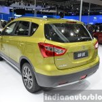 Suzuki SX4 S-Cross rear three quarter at Auto Shanghai 2015