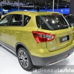 Suzuki SX4 S-Cross rear three quarter view at Auto Shanghai 2015