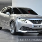 Suzuki iK-2 Concept front three quarter view at Auto Shanghai 2015