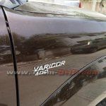 Tata Safari Storme facelift badge spied
