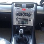 Tata Safari Storme facelift center console spied