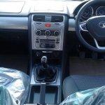 Tata Safari Storme facelift dashboard spied