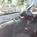 Tata Safari Storme facelift interior spied