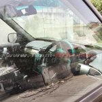 Tata Safari Storme facelift steering spied